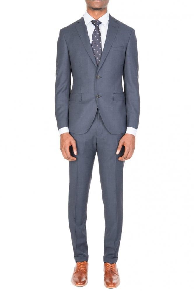 Hugo Boss Reyno2 Wave1 Suit Navy
