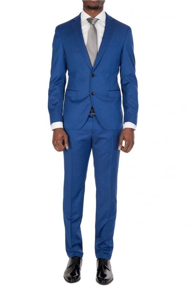Hugo Boss Reyno3Wave1 Suit Blue