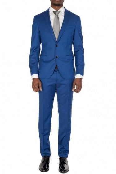 Hugo Boss Reyno3/Wave1 Suit Blue