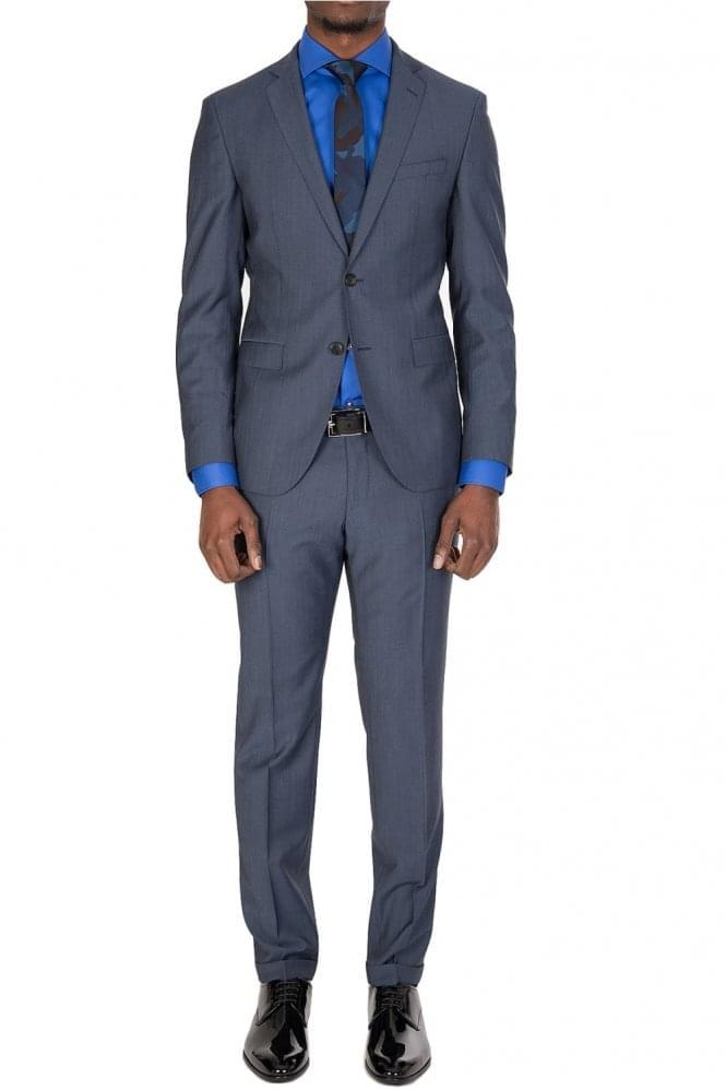 Hugo Boss Reyno3Wave1 Suit Navy