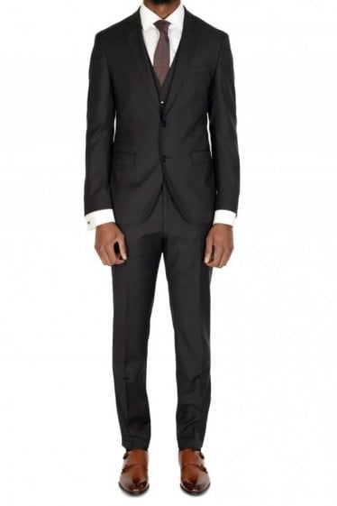 Hugo Boss Reyno4 /Wave2 Suit Black