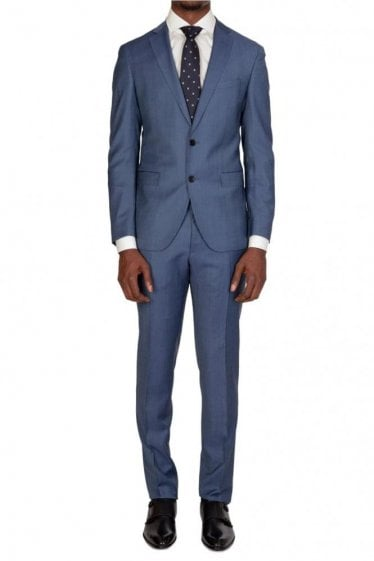 Hugo Boss Reyno4/Wave2 Suit Blue