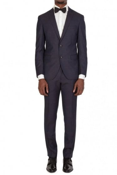 Hugo Boss Reyno4/Wave2 Suit Navy