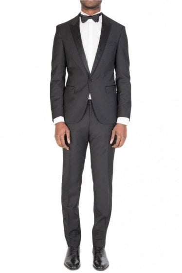 Hugo Boss Reysen/Weever Two Piece Suit Black