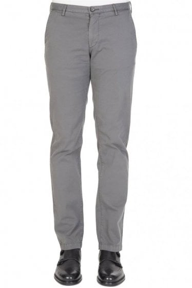 Hugo Boss Rice3-D Slim Trousers Grey