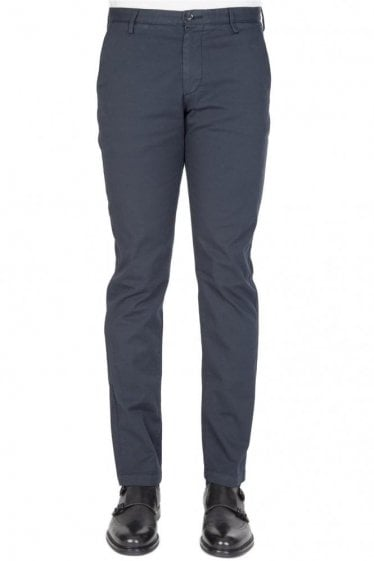 Hugo Boss Rice3-D Slim Trousers Navy