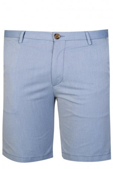 Hugo Boss RiceShort 3-W Slim Fit Chino Shorts Blue