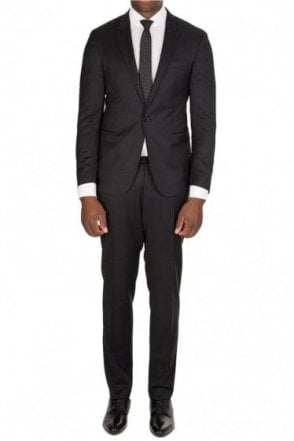 Hugo Boss 'Rich Willow' Two Piece Suit Black