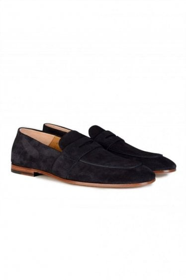 Hugo Boss Safari Loafer Navy