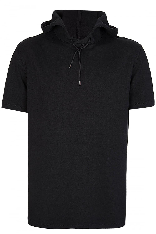 af2eb4ef3 BOSS Hugo Boss Short Sleeved Hooded Sweatshirt - Clothing from ...