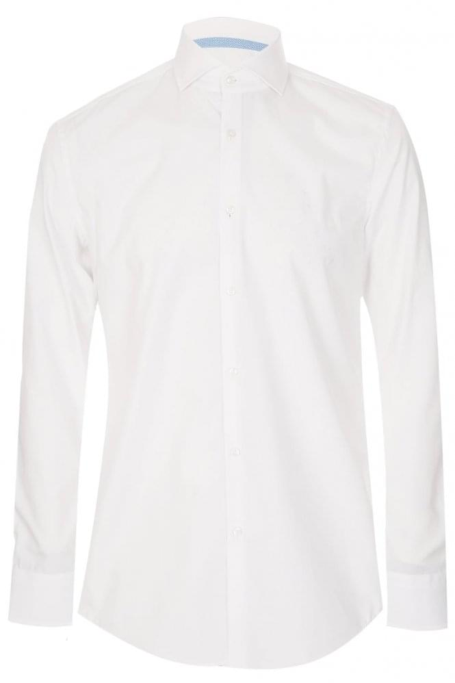 HUGO BOSS Slim Fit Jery Shirt White