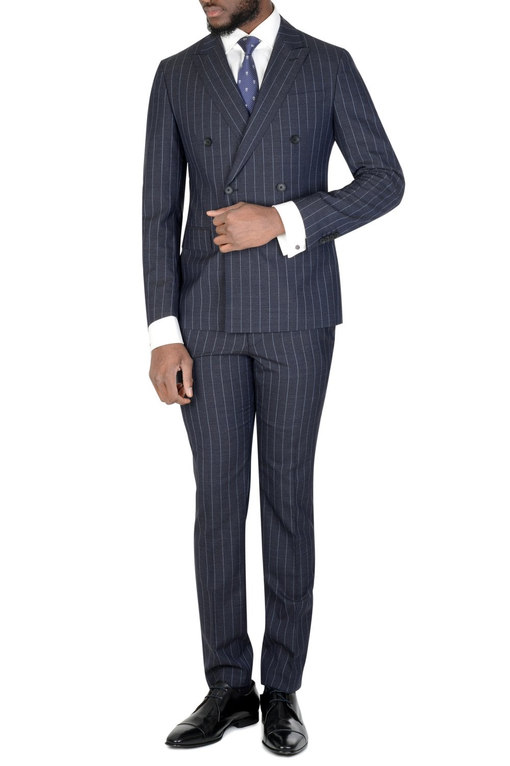 best authentic new arrival good quality Hugo Slim Fit Pinstripe Suit