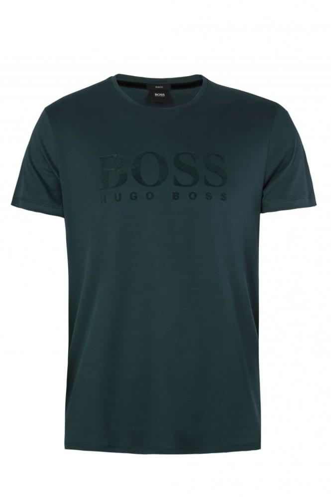 HUGO BOSS Slim Fit Tessler 73 T-Shirt Green