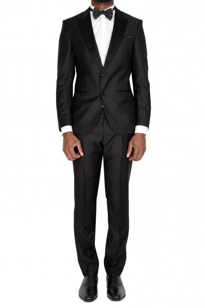 Hugo Boss Slim Fit Tuxedo with Silk Trims