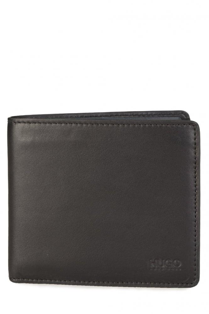HUGO BOSS Subway_4 CC Coin Wallet Black