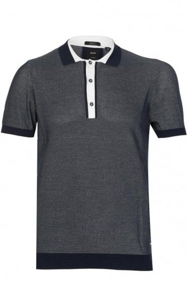 Hugo Boss T-Tocci Polo Navy