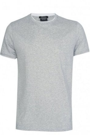 Hugo Boss 'Taber 04' Pima Cotton T-Shirt Grey