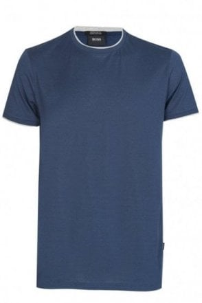 Hugo Boss 'Taber 04' Pima Cotton T-Shirt Navy