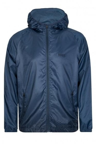 Hugo Boss Technical Beach Jacket Blue
