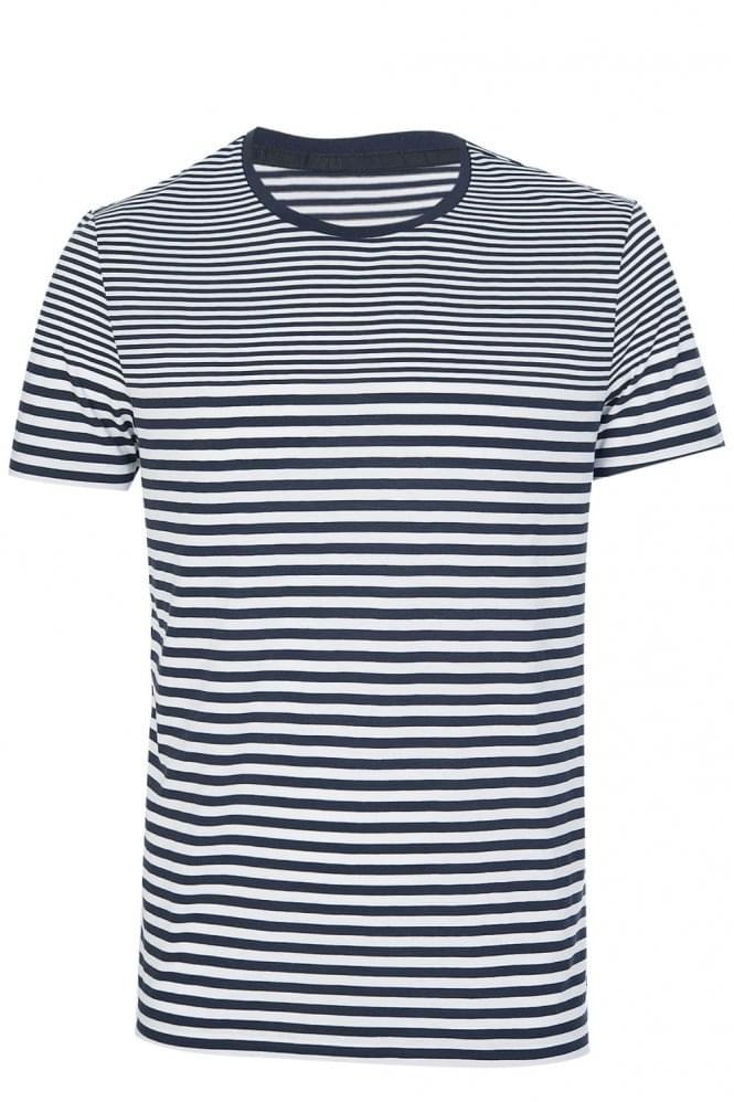 Hugo Boss Tessler 48-WS Slim Fit T-Shirt Navy