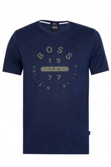 Hugo Boss Tessler 86 T-shirt Navy