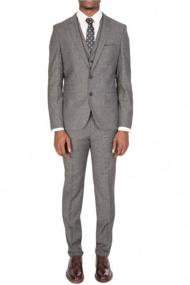This 3-piece HUGO suit ALID/WYLL/HILOR