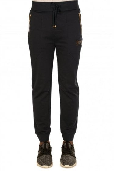Hugo Boss Tracksuit Pants Navy & Gold