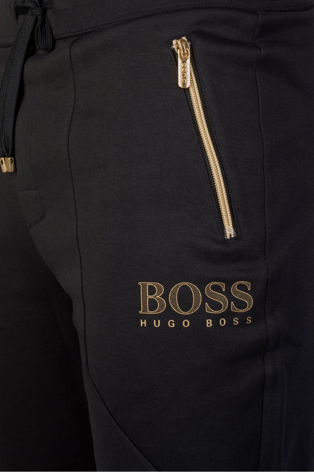 a0a42218 Hugo Boss Tracksuit Pants Navy & Gold