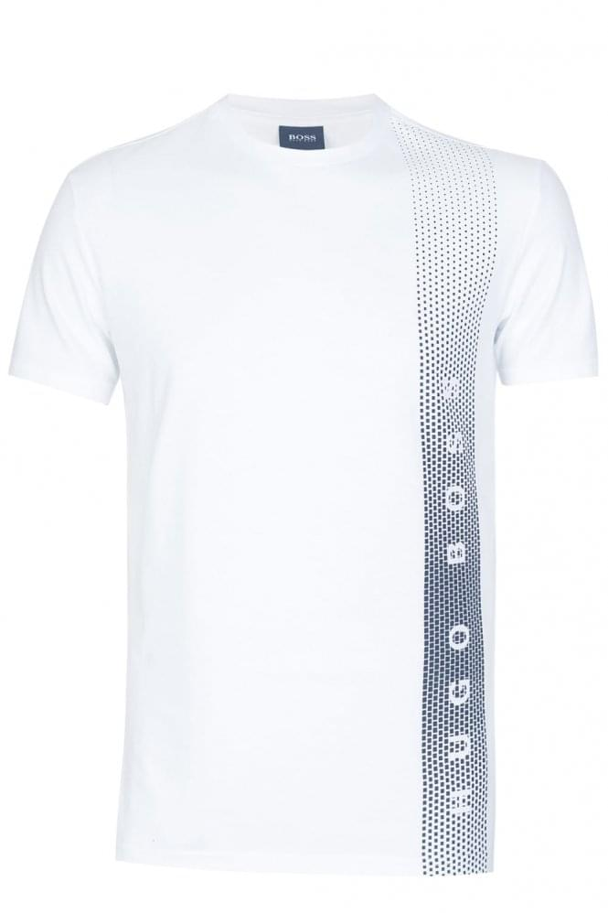 HUGO BOSS UV Protection Slim Fit T-Shirt White