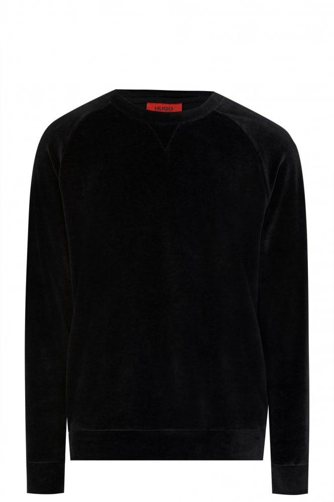 Hugo Boss Velour Sweatshirt