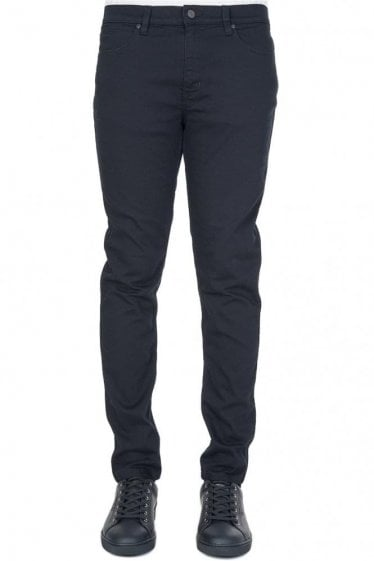 Hugo by Hugo Boss '734' Skinny Jeans Black