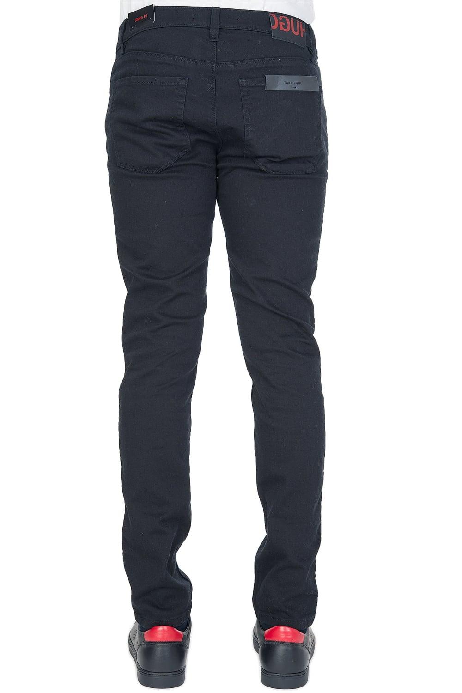 hugo by hugo boss 39 734 39 skinny jeans black. Black Bedroom Furniture Sets. Home Design Ideas
