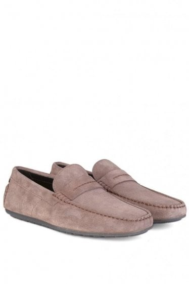 Hugo By Hugo Boss Dandy_Mocc_sdpr Suede Moccasins Brown
