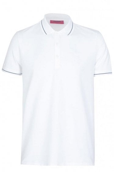 Hugo By Hugo Boss Daymont Slim Fit Polo White