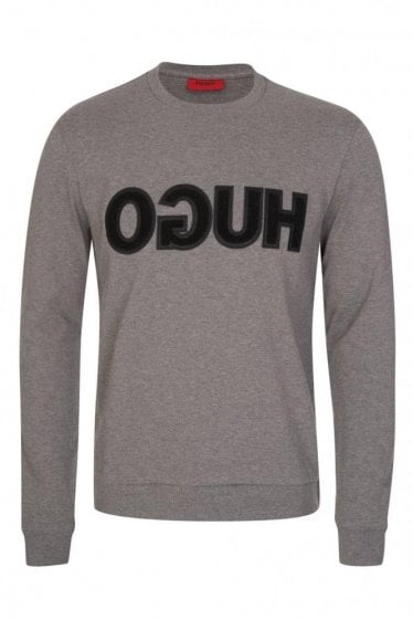 Hugo by Hugo Boss 'Dicagor' Sweatshirt Grey