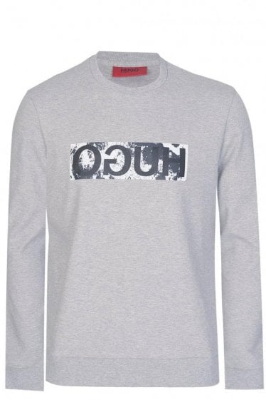 Hugo by Hugo Boss Dicagos Sweatshirt Grey