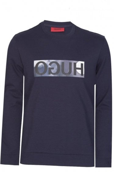 Hugo by Hugo Boss Dicagos Sweatshirt Navy