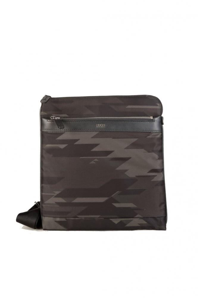 HUGO by HUGO BOSS 'Digital L_SZ' Camouflage Bag