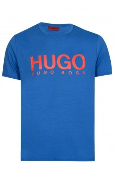 Hugo by Hugo Boss Dolive T-shirt Blue