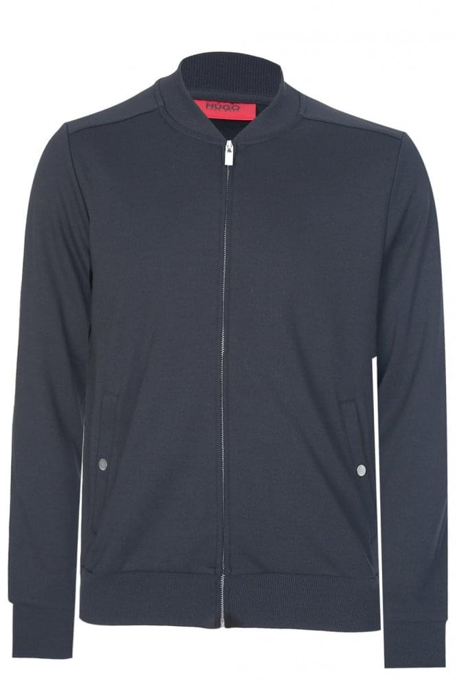 HUGO by HUGO BOSS Donso Zip Sweatshirt Black