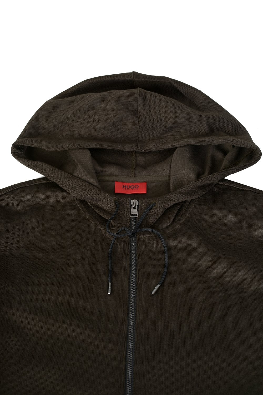 462a59d3d HUGO Hugo Boss Debasti Zip-down Hooded Sweatshirt - Clothing from ...
