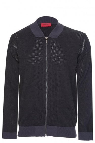 Hugo By Hugo Boss Slop Cardigan Black