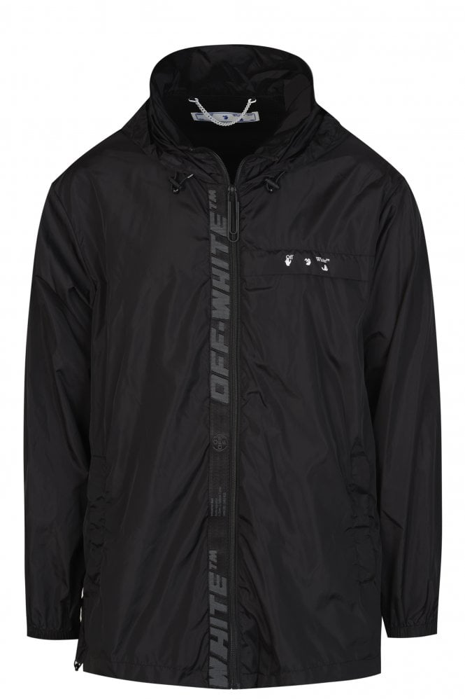 Industrial Zip-Up Raincoat