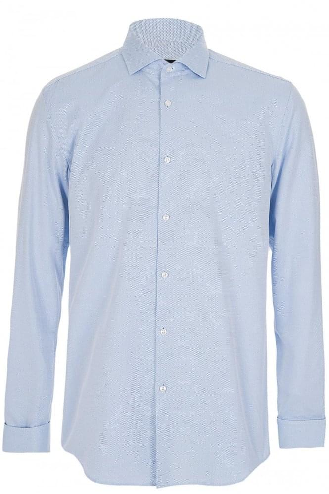 HUGO BOSS 'Jaiden' Shirt Blue