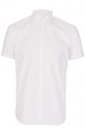Hugo Boss Jats Slim Fit White Shirt