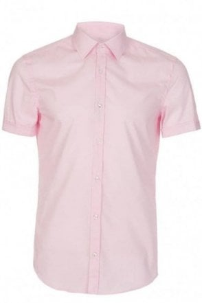 Hugo Boss Jats Slim Fit Pink Shirt