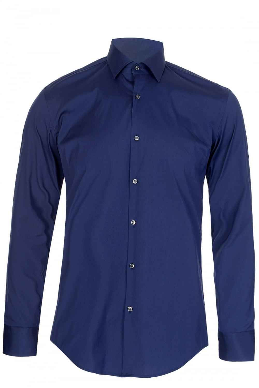 Hugo boss hugo boss jenno slim fit shirt navy hugo boss for Navy slim fit shirt