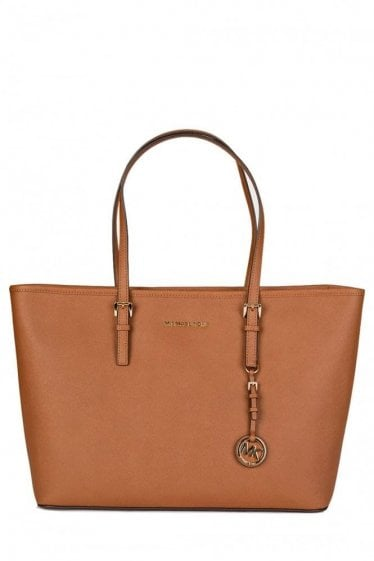 Michael Kors Jet Set Travel Tote Brown