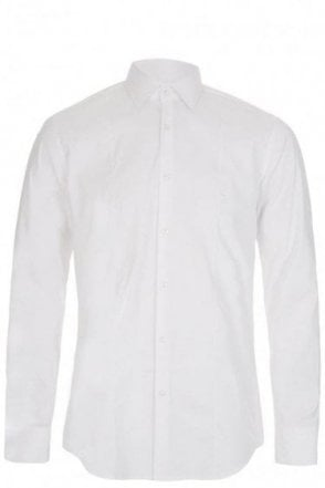 Hugo Boss 'Jilip' Slim Fit Shirt White