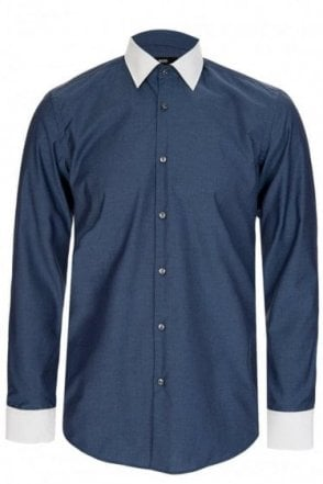 Hugo Boss 'Jonnes' Contrast Collar Shirt